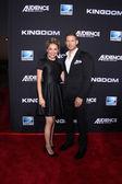Michelle Armstrong, Matt Lauria — Foto Stock