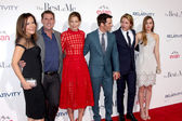 Denise Di Novi, Nicholas Sparks, Michelle Monaghan, James Marsden, Luke Bracey, Liana Liberato — Stock Photo