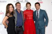Denise Di Novi, Nicholas Sparks, Michelle Monaghan, James Marsden — Stock Photo