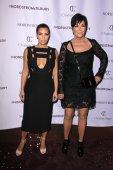 Kim Kardashian West, Kris Jenner — Stock Photo