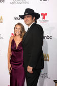 Alexa Vega, Robert Rodriguez — Stock Photo