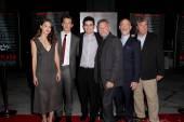 Melissa Benoist, Miles Teller, Damien Chazelle, Paul Reiser, JK Simmons — Stock Photo