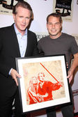 Cary Elwes, Shepard Fairey — Stock Photo