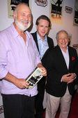 Rob Reiner, Cary Elwes, Mel Brooks — Stock Photo