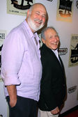 Rob Reiner, Mel Brooks — Stock Photo