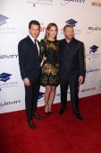 James Marsden, Michelle Monaghan, Ryan Kavanaugh — Stockfoto