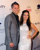 Scott Sveslosky, Danica McKellar — Stock Photo