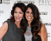 Hunter Tylo, Lindsay Hartley — Foto de Stock