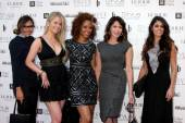 Vanessa Marcil, Crystal Hunt, Chrystee Pharris, Hunter Tylo, Lindsay Hartley — Stock Photo