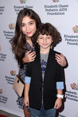 Rowan Blanchard, August Maturo — Stock Photo