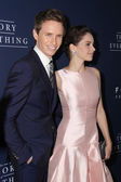 Eddie Redmayne, Felicity Jones — Stock Photo