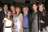 Michael Damian, Paris Abbott, Katherine Flynn, Jane Seymour, guest, Keenan Kampa, Janeen Best Damian — Stock Photo