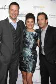 Brady Smith, Tiffani Thiessen, Luke Perry — Stock Photo