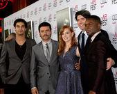 Elyes Gabel, Oscar Isaac, Jessica Chastain, J.C. Chandor, David Oyelowo — Stock Photo