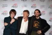 Caleb Landry Jones, Sebastian Bear-McClard, Joshua Safdie — Stock Photo
