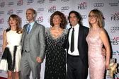 Sasha Alexander, Edoardo Ponti, Sophia Loren, Carlo Ponti, Andrea Meszaros Ponti — Stock Photo