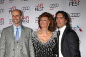 Edoardo Ponti, Sophia Loren, Carlo Ponti — Stock Photo