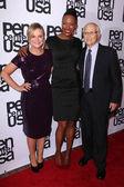 Amy Poehler, Aisha Tyler, Norman Lear — Stock Photo