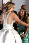 Jennifer Lawrence, Willow Shields — Stock Photo