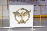 Atmosphere at the The Hunger Games: Mockingjay Part 1 Premiere — Stock Photo