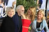 Bruce Dern & Spouse, Laura Dern, Diane Ladd — Stock Photo