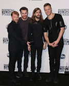 Ben McKee, Daniel Platzman, Daniel Wayne Sermon, Dan Reynolds, Imagine Dragons — Stock Photo