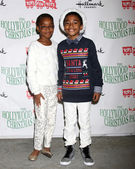 Marsai Martin, Miles Brown — Stock Photo