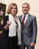 Lisa Kasteler, Christoph Waltz — Stock Photo