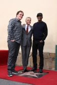 Quentin Tarantino, Christoph Waltz, Samuel L. Jackson — Stock Photo
