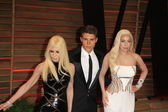 Donatella Versace, Nolan Gerard Funk, Lady Gaga — Stock Photo