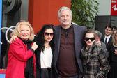 Gena Rowlands, Alexandra Cassavetes, Nick Cassavetes, Zoe Cassavetes — Stock Photo