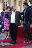 Evangeline Lilly, Sir Peter Jackson, Orlando Bloom — Stock Photo