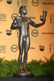 The Actor Statue at the 21st Annual Screen Actors Guild Awards Nominations Announcement — Stock Photo