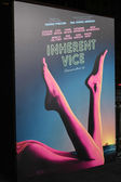 Inherent Vice Poster — Stock Photo