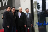 Jimmy Kimmel, Seth MacFarlane, Don Mischer, Leron Gubler — Stock Photo