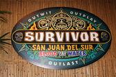 Survivor San Juan Del Sur Emblem — Stock Photo
