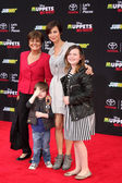 Catherine Bell, family — Foto Stock