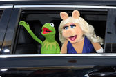 Kermit the Frog, Miss Piggy — Stock Photo