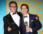 Simon Halls, Matt Bomer — Stock Photo