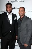 50 Cent, Larenz Tate — Stock Photo