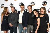 Michelle Stafford, Billy Miller, Jason Thompson, William deVry, Kelly Monaco, Nancy Lee Grahn — Stock Photo