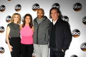 Felicity Huffman, unknown, John Ridley, Timothy Hutton — Stock Photo