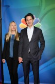 Hope Davis, Scott Cohen — Stock Photo