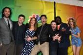 Chris D'Elia, Brent Morin, Bianca Kajlich, Rick Glassman, David Flynn, Ron Funches, Bridgit Mendler — Stock Photo