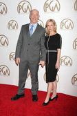 J.K. Simmons, Michelle Schumacher — Foto Stock