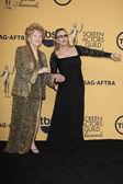 Debbie Reynolds, Carrie Fisher — Stock Photo
