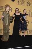 Debbie Reynolds, Carrie Fisher, Billie Lourd — Stock Photo