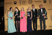 Actors Andrea Riseborough, Emma Stone, Amy Ryan, Naomi Watts, Edward Norton, and Michael Keaton — Stock Photo