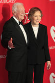 Former U.S. President Jimmy Carter, former First Lady Rosalynn Carter — Foto de Stock