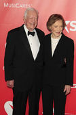 Former U.S. President Jimmy Carter, former First Lady Rosalynn Carter — Stock Photo